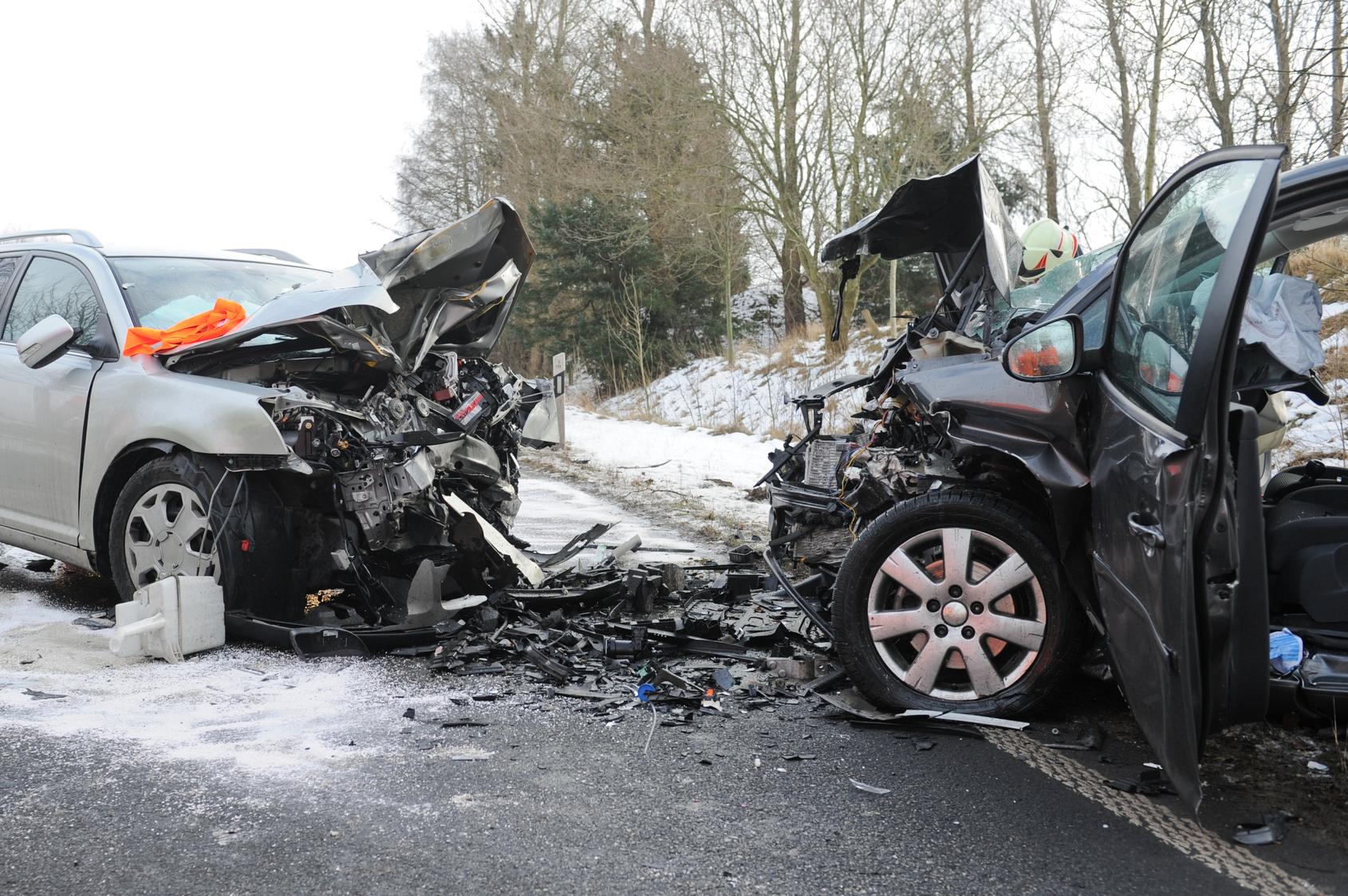Verkehrsunfall in Polen