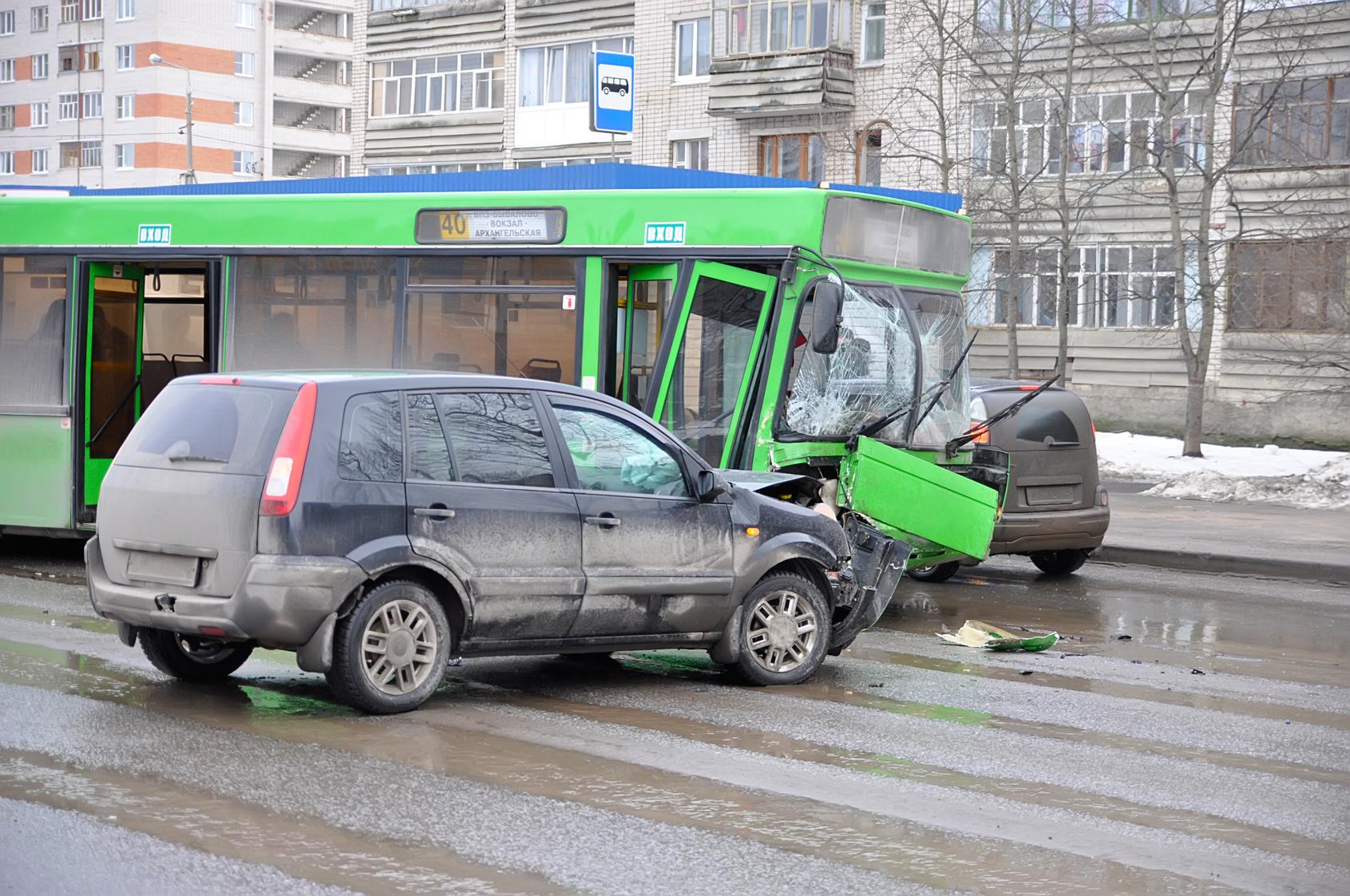 Unfall in Polen