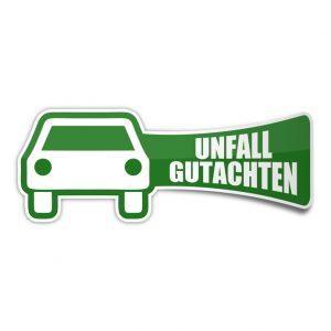 sticker auto unfall-gutachten 1