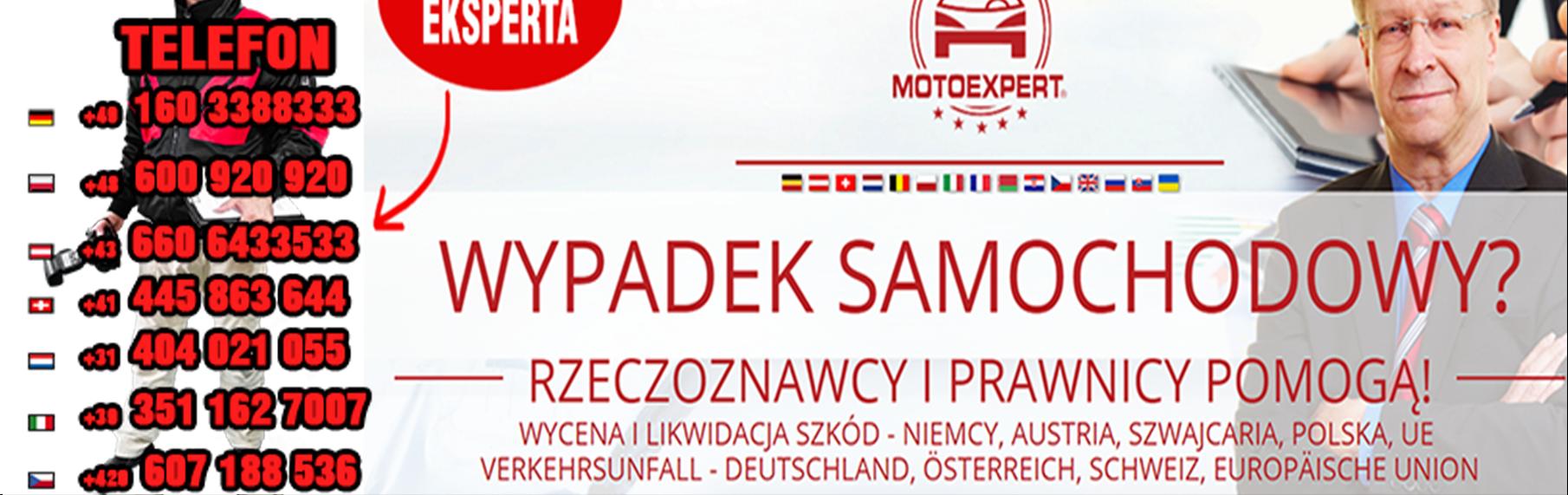 Autounfall in Polen Verkehrsunfall in Polen